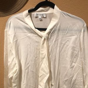 Off white  St. John blouse